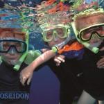 children snorkel
